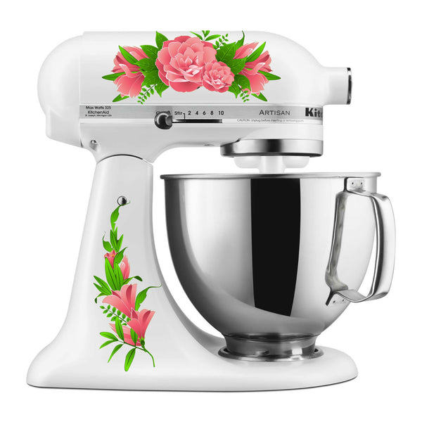 Pink Carnations Mixer Decal