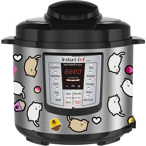 Cats and Treats Instant Pot Decal
