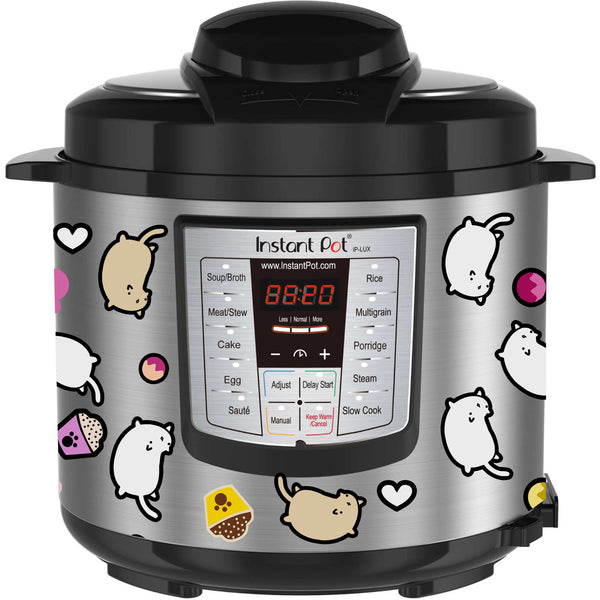 Cats and Treats Slow Cooker Decal