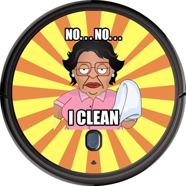 "Consuela ""I Clean"" Skin for All Floor Cleaning Robots"