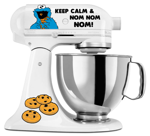 Cookie Monster (Nom Nom Nom) Decal Set