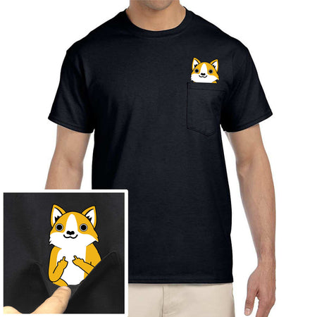 F-You Pocket Cat Tee