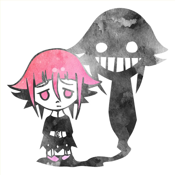 Crona Shadow Watercolor Decal