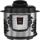 Damask Decal for Slow Cookers