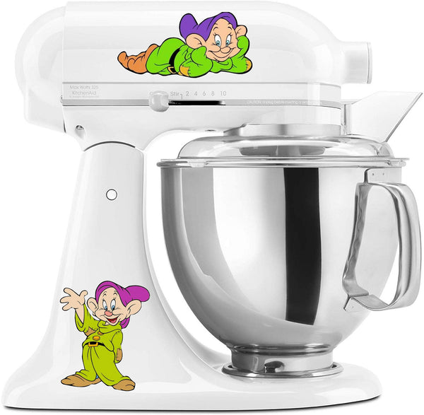 Dopey Seven Dwarves Mixer Decal Set
