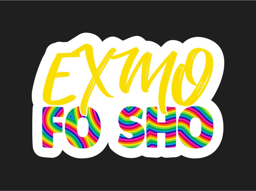 Exmo Fosho Printed Decal