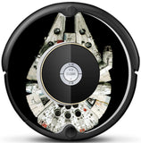 Millenium Falcon Inspired Roomba Decal