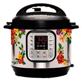 Vintage Watercolor Floral Slow Cooker Decal