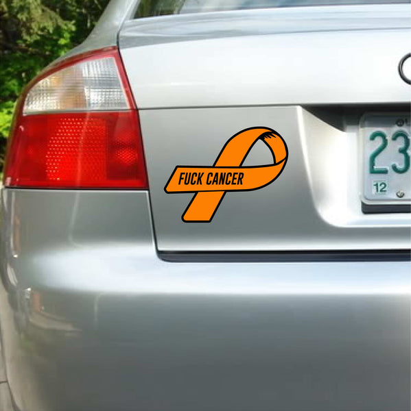 F*ck Cancer Decal