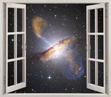 Galaxy Open Window Wall Art