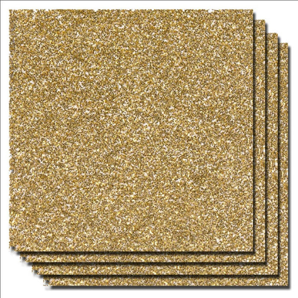 Gold Sparkle Vinyl Sheets