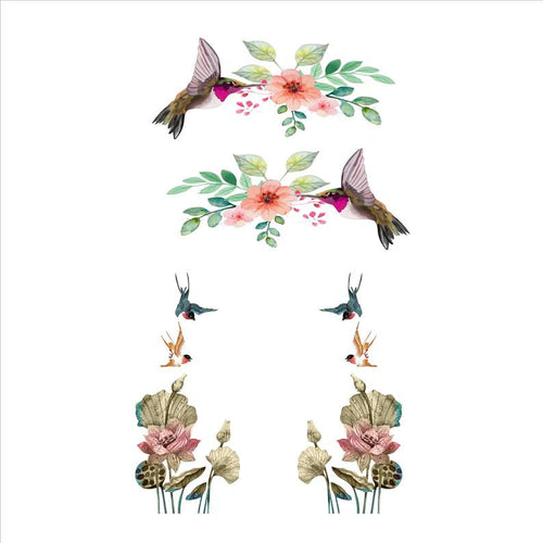 Hummingbirds Mixer Decal Set