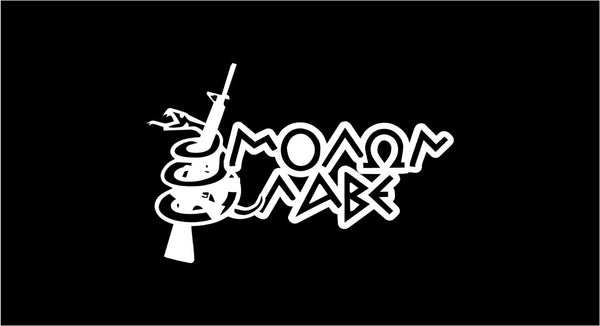 Molon Labe 2nd Amendment - Gun Lovers Vinyl Decal for Windows, Walls and More!