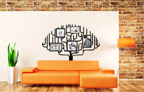"Beautiful Large-Size ""Family Tree"" Vinyl Decal (Frames Sold Separately)"
