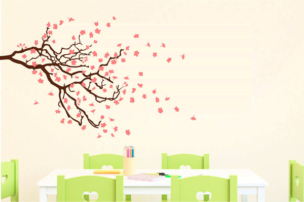 Beautiful Cherry Blossoms Large-Size Vinyl Decal