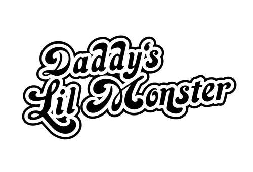 Daddy's Little Monster Onesie