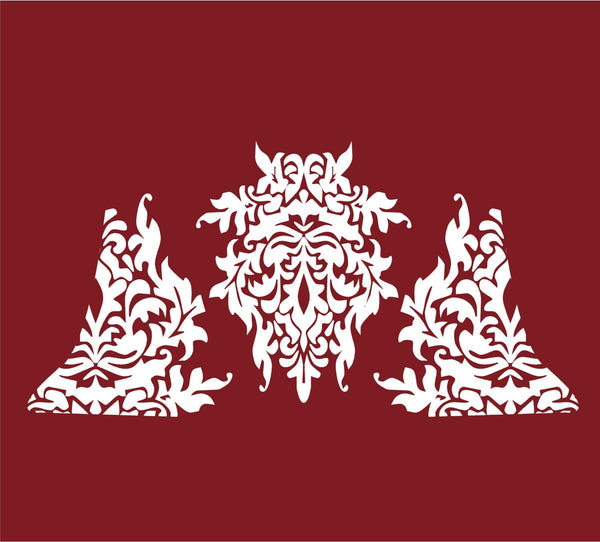 Damask Decal Set