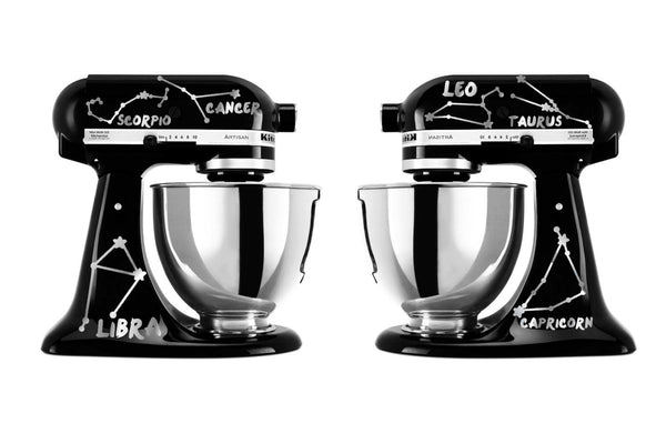 Zodiac Constellations Themed Vinyl Decal Set for Kitchenaid Mixers and More!