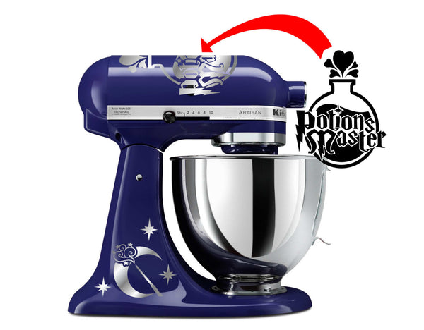 Potions Master Themed Vinyl Decal for Kitchenaid Mixers and More!