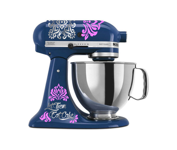 Let Them Eat Cake - Unique Vinyl Decals for Kitchenaid Mixers and More!