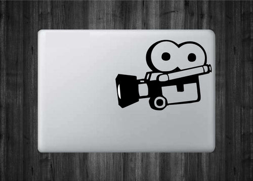 Vintage Camcorder Mac Decal