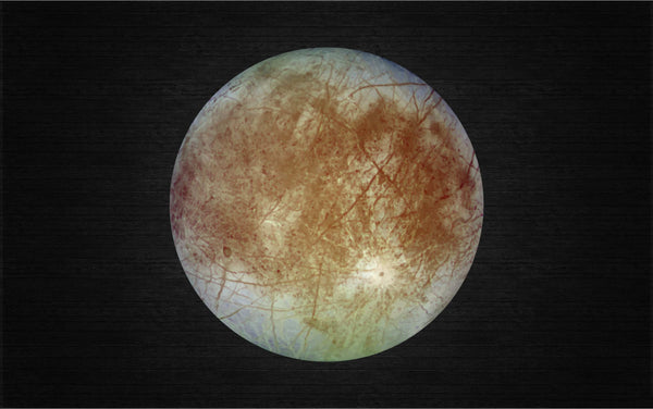 Europa - Moon of Jupiter Printed Decal for Laptops, Windows and More! Lots of Sizes Available!