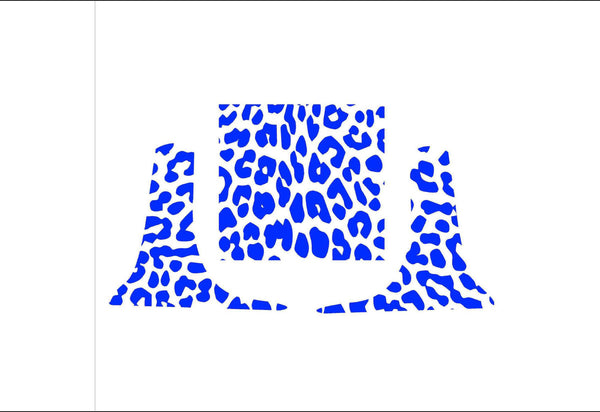Leopard Spots Vinyl Decal Set for Kitchenaid Mixers and More!