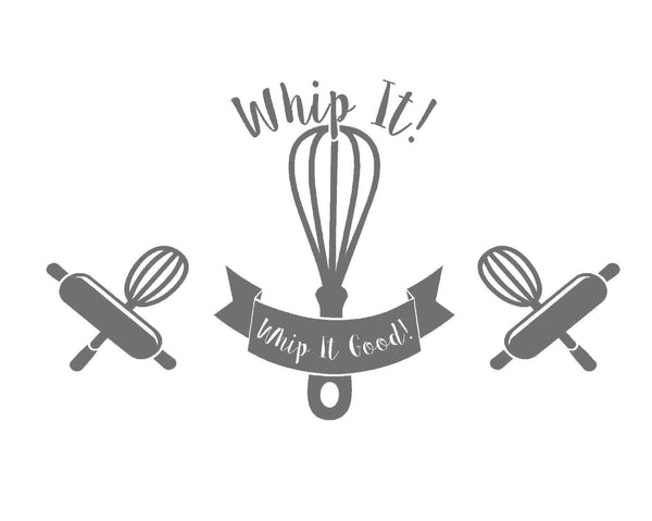 Whip It! Decal Set