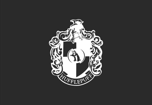 Hufflepuff House Crest Decal