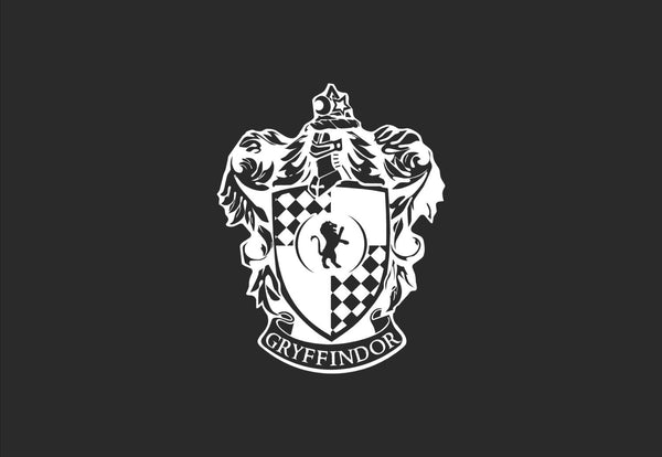 Gryffindor House Crest Decal
