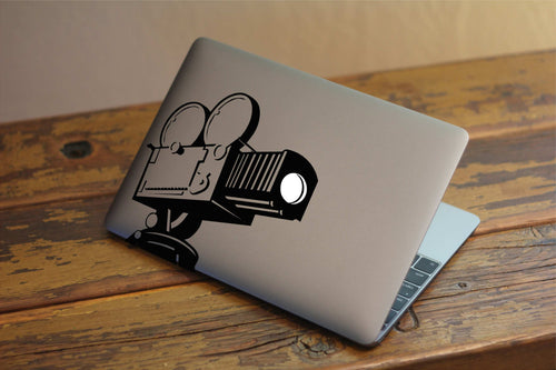 Vintage Camcorder Decal