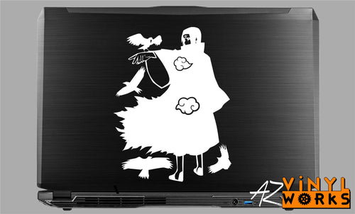 Itachi Tsukuyomi Crows Decal for Mac