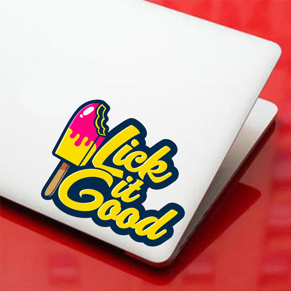 Lick it Good Printed Decal