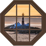 Lighthouse Octogonal Wall Art