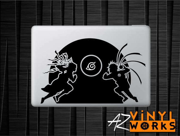 Naruto vs Sasuke Decal for Mac