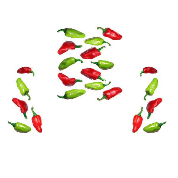 Red & Green Peppers Decal Set