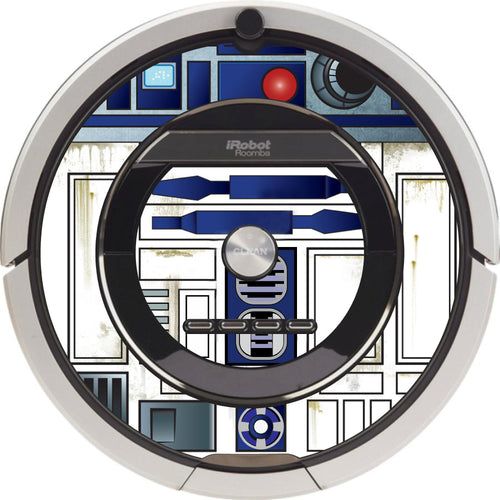 R2D2 Vinyl Roomba Decal