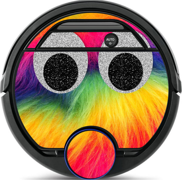 Rainbow Monster Skin for All Floor Cleaning Robots