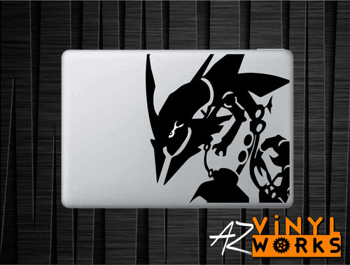 Rayquaza - Legendary Pokemon Inspired Vinyl Decal for Mac