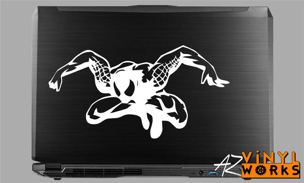 Spiderman Jump - Marvel Vinyl Decal for Mac