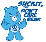 SUCK IT, the Don't Care Bear Printed Vinyl Decal