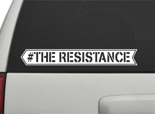 The Resistance - Keith Olbermann Vinyl Decal