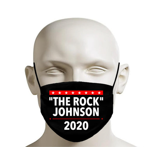 The Rock 2020 Printed Mask