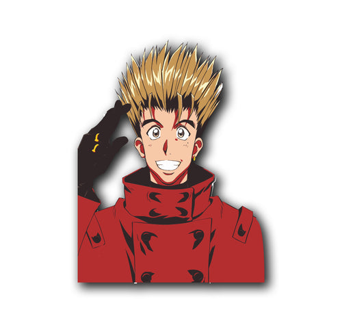 Vash the Stampede Trigun Decal