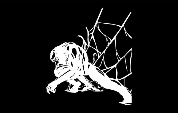 Venom Web Decal