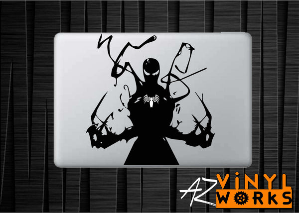 Venom Web Vinyl Decal for Mac