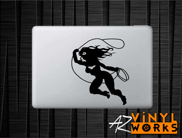 Wonder Woman Lasso Vinyl Decal for Mac