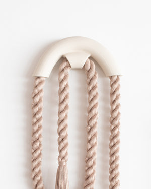 Small Ceramic Arch Loop (Taupe)
