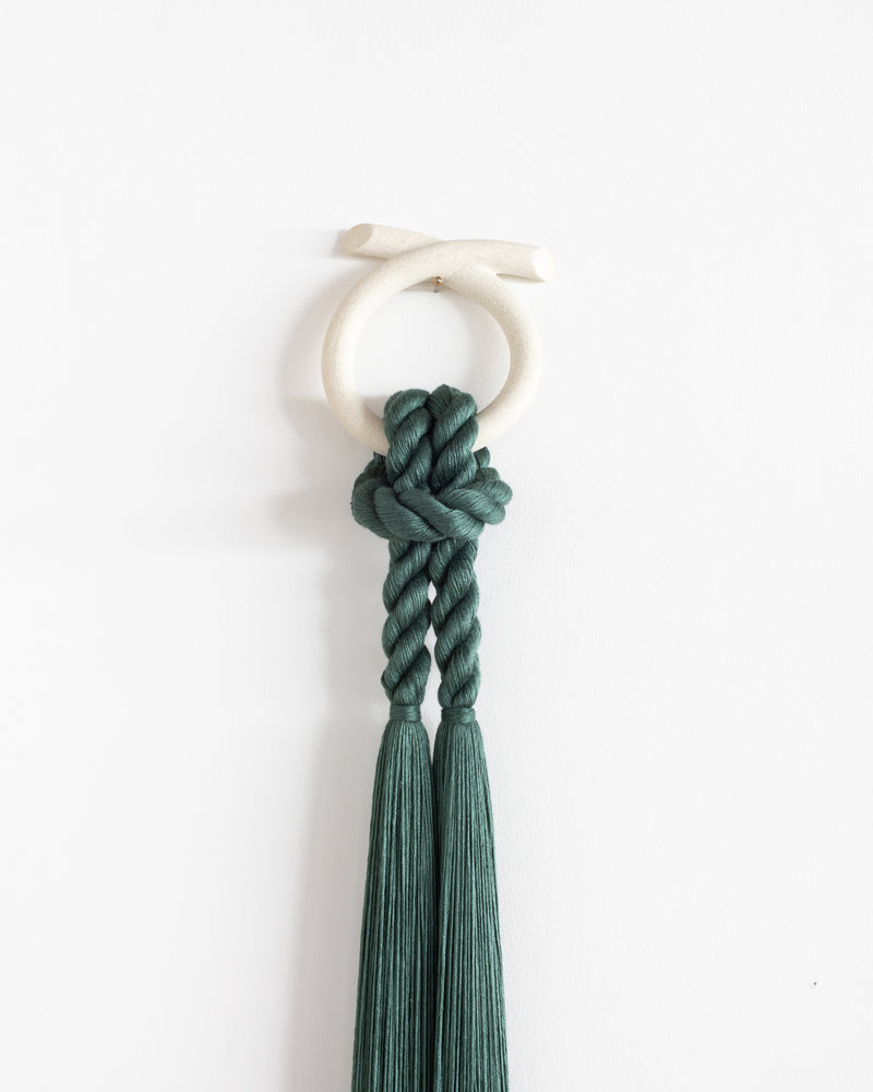 Ceramic Loop (Forest Green)