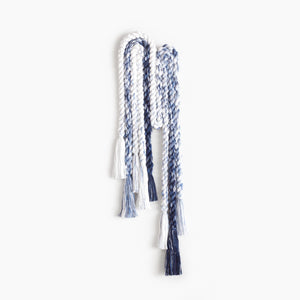 Long Rope Squiggle (Indigo)